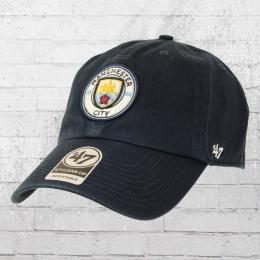 47 Brands Fussball Cap Manchester City FC vintage blau