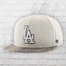 47 Brand MBL Snake Cap LA Dodgers Mütze grau reptil