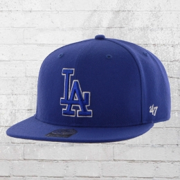 47 Brands MLB Kappe LA Dodgers Snapback Cap blau