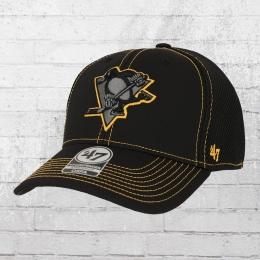 47 Brands Pittsburgh Penguins Flex Mesh Cap schwarz