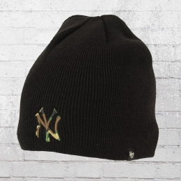 47 Brands Strickmütze New York Yankees Camfill Beanie schwarz