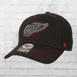 47 Brands Stronaut Contender Detroit Red Wings Cap schwarz