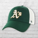 47 Brands MBL Trucker Cap Curved Oakland Athletics grün weiss