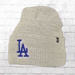 47 Brands Wintermütze LA Dodgers Brain Freeze Beanie grau