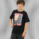 Converse Kinder T-Shirt Flag schwarz