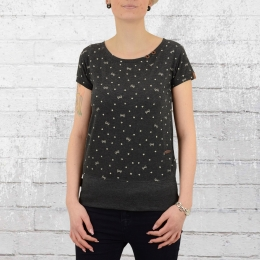 Alife and Kickin Frauen T-Shirt Coco B anthrazit