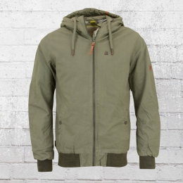 Alife and Kickin Herren Winter Jacke Don oliv