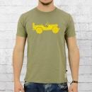 Alpha Industries Herren T-Shirt Willys T olivgrün