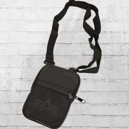 Alpha Industries Utility Bag Männer Handtasche Crossbody schwarz