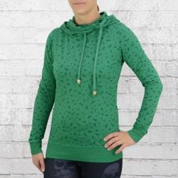 ATO Berlin Damen Kapuzen Longsleeve Shirt Jondra grün