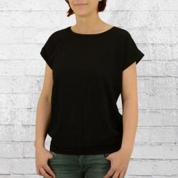 ATO Berlin Frauen T-Shirt Leo schwarz