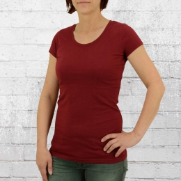 ATO Berlin Frauen T-Shirt Organic Cotton Jula weinrot