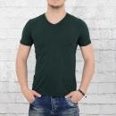Ato Herren Organic Cotton T-Shirt Valerio aus Bio-Baumwolle grün