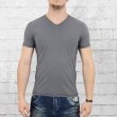 Ato Herren Organic Cotton T-Shirt Valerio Bio Baumwolle grau