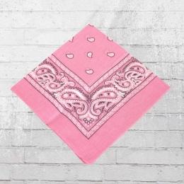 Bandana Paisley Tuch Nickituch light pink