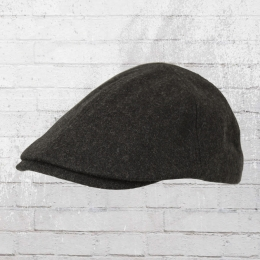Beechfield Melton Wool Ivy Cap Gatsby Kappe anthrazit