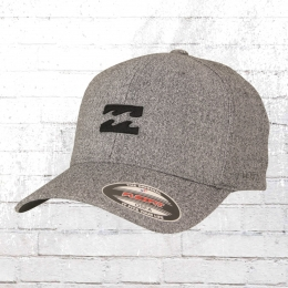 Billabong All Day Flexfit Cap grau meliert