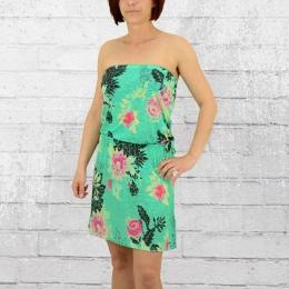 Billabong Bandeau Kleid Damen New Amed grün bunt