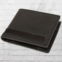 Billabong Geldbörse Empire Wallet Portemonnaie grau schwarz