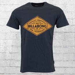 Billabong Herren Bogus T-Shirt blau