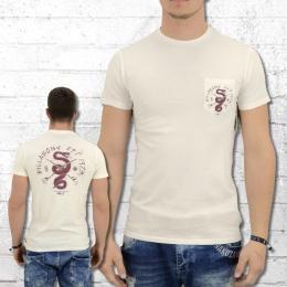 e5451cf0566d2 Billabong Men Pocketed T-Shirt Turf War creme white