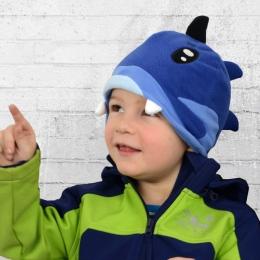 Billabong Kinder Fleece Mütze Lucas Fisch marine blau