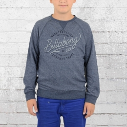 Billabong Kinder Sweater Trailer blau melange