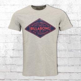 Billabong T-Shirt Männer Bogus grau melange