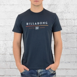 Billabong Männer Core Fit T-Shirt Tri Unity blau