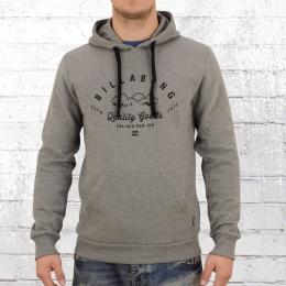 Billabong Männer Kapuzen Sweater Patrol Hoody grau melange