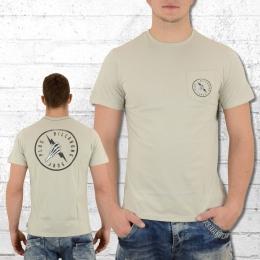 Billabong Männer Pocket T-Shirt Fistbolt hell beige