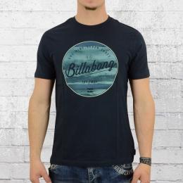 Billabong Männer T-Shirt Rounder dunkelblau