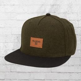 Billabong Mütze Oxford Snapback Cap oliv schwarz
