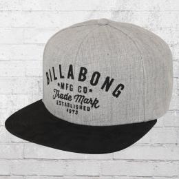 Billabong Mütze Snapback Sama Cap grau schwarz