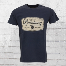 Billabong Pits Top Herren T-Shirt blau