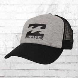Billabong Podium Trucker Cap grau schwarz