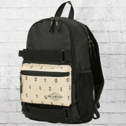Billabong Rucksack Crew Backpack Laptop schwarz