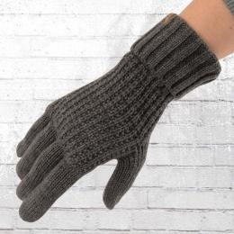 Billabong Strick Finger Handschuhe Brooklyn grau