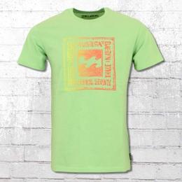 Billabong T-Shirt Boundaries hell grün