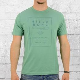 Billabong T-Shirt Männer Devide grün