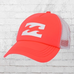 Billabong Trucker Cap Hat neon orange