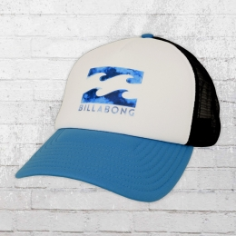 Billabong Trucker Cap Podium weiss blau