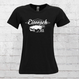 Bordstein Damen T-Shirt 311 Eisenach schwarz
