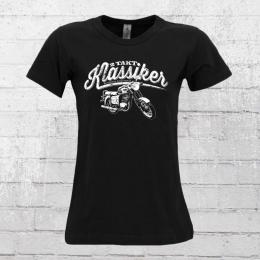Bordstein Frauen T-Shirt 2 Takt Klassiker TS 150 schwarz