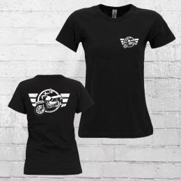 Bordstein Frauen T-Shirt Star 2 schwarz