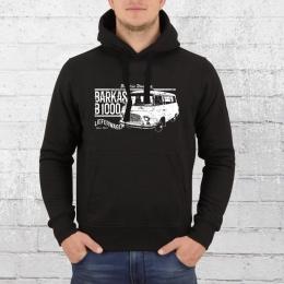 Bordstein Herren Kapuzenpullover B 1000 Lieferwagen schwarz