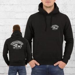 Bordstein Kapuzensweater Eisenschwein II Hoody schwarz