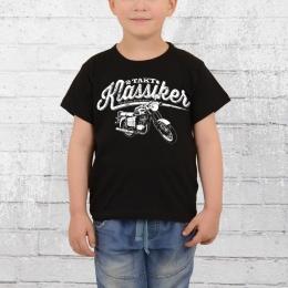 Bordstein Kinder T-Shirt 2 Takt Klassiker TS 150 schwarz