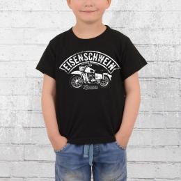 Bordstein Kinder T-Shirt ES Eisenschwein schwarz