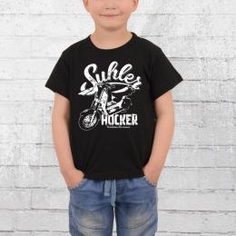 Bordstein Kinder T-Shirt Suhler Hocker SR50 schwarz